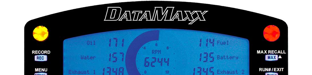 DataMaxx LCD Display for Racing Data Logger