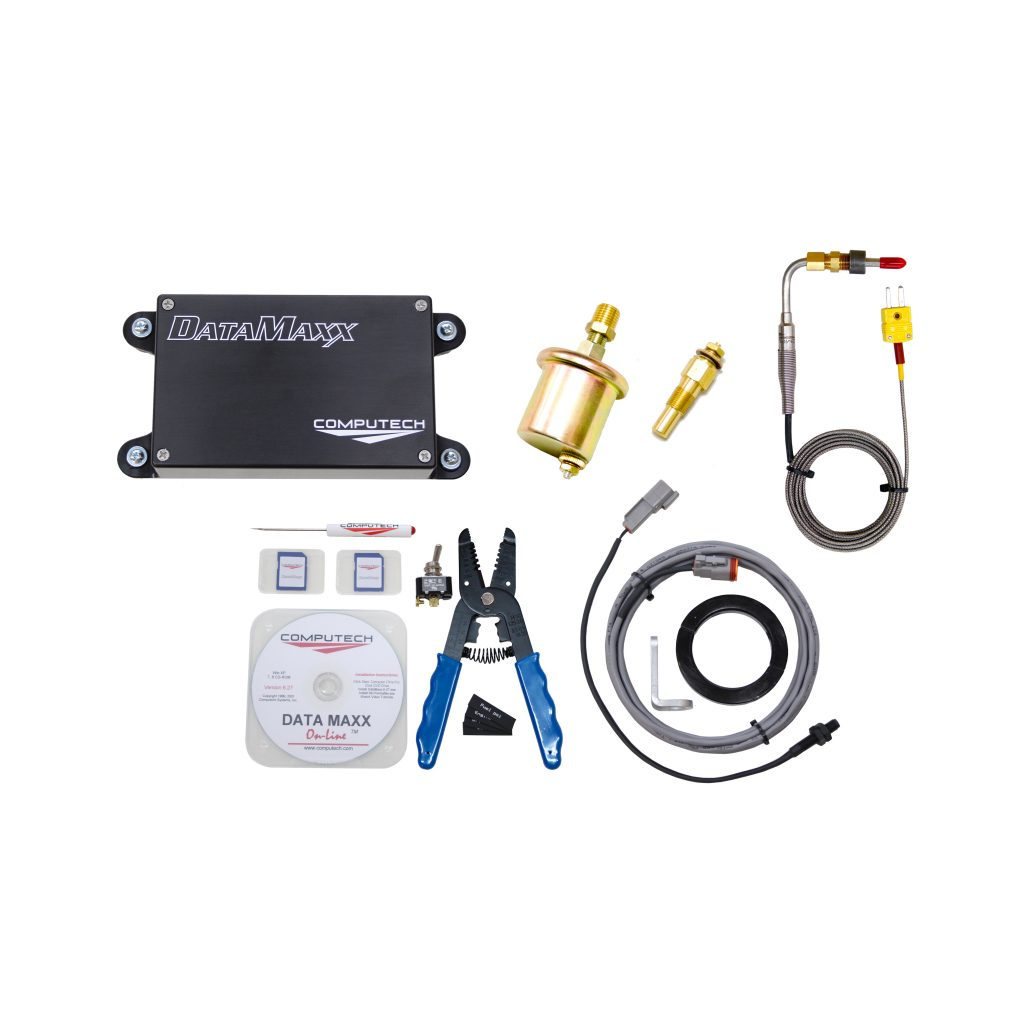 8000 DataMaxx Bracket Data Logger Kit for Drag Racing