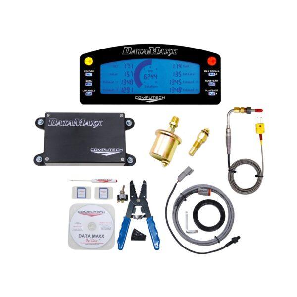 8000 DataMaxx Bracket Data Logger Kit With LCD for Drag Racing