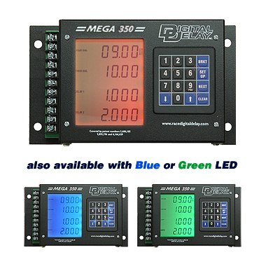 Digital-Delay-Box-Mega-350-Drag-Racing-Delay-Box-Options