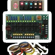 Digital-Delay-Racing-Elite-Mega-Dial-Switch-Panel-Chrome-All2