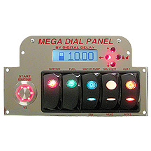 Elite Mega Dial Panel Chrome