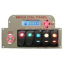 Elite Mega Dial Panel Chrome