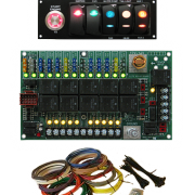 Digital-Delay-Racing-Elite-Mega--Dual-View-Dial-Switch-Panel-Black-All