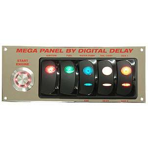 Elite Mega Panel Chrome