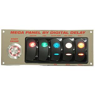 Elite Mega Panel Chrome