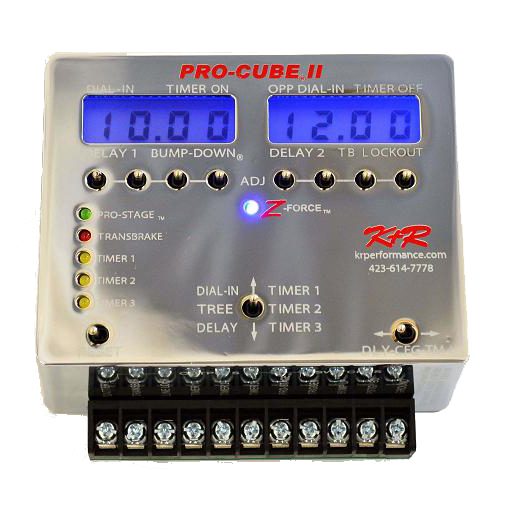 K-R-Pro-Cube-3-Z-Force-Drag-Racing-Delay-Box-Chrome