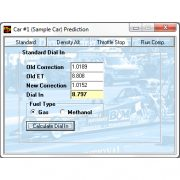 RaceBase Drag Pro Electronic Log Book ET Prediction Software