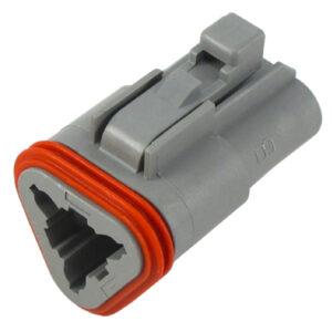 3C Male Case - Deutsch Connector Series