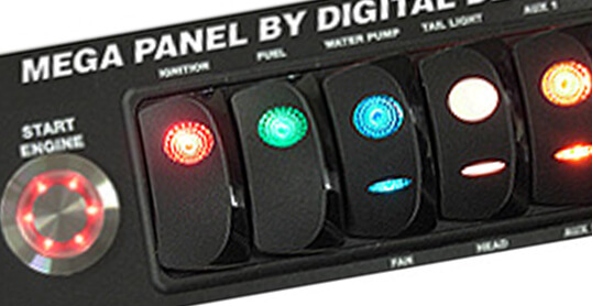 Switch Panel Dail In Board 3