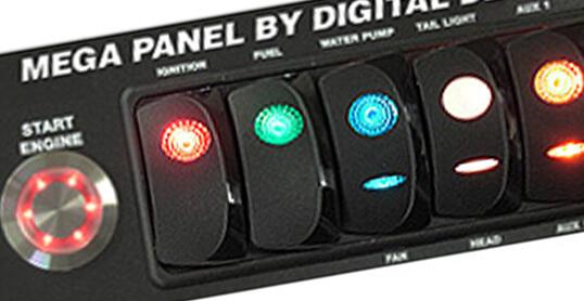 Switch Panel Dail In Board 3