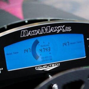 DataMaxx Jr. Dragster Data Logger LCD Display