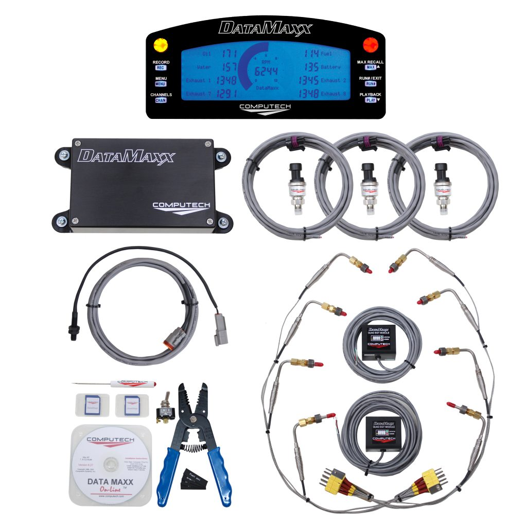 8000-TRD-LCD DataMaxx Tractor Pulling Data Logger Kit with LCD