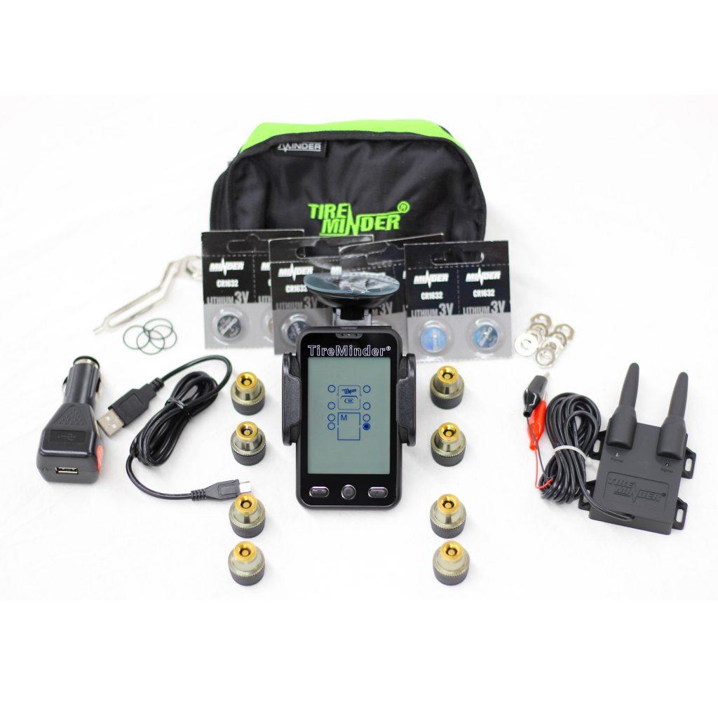 Tire Pressure Monitor >> 8 Sensor Camping Trailer Tire Pressure Monitoring System W Alarm