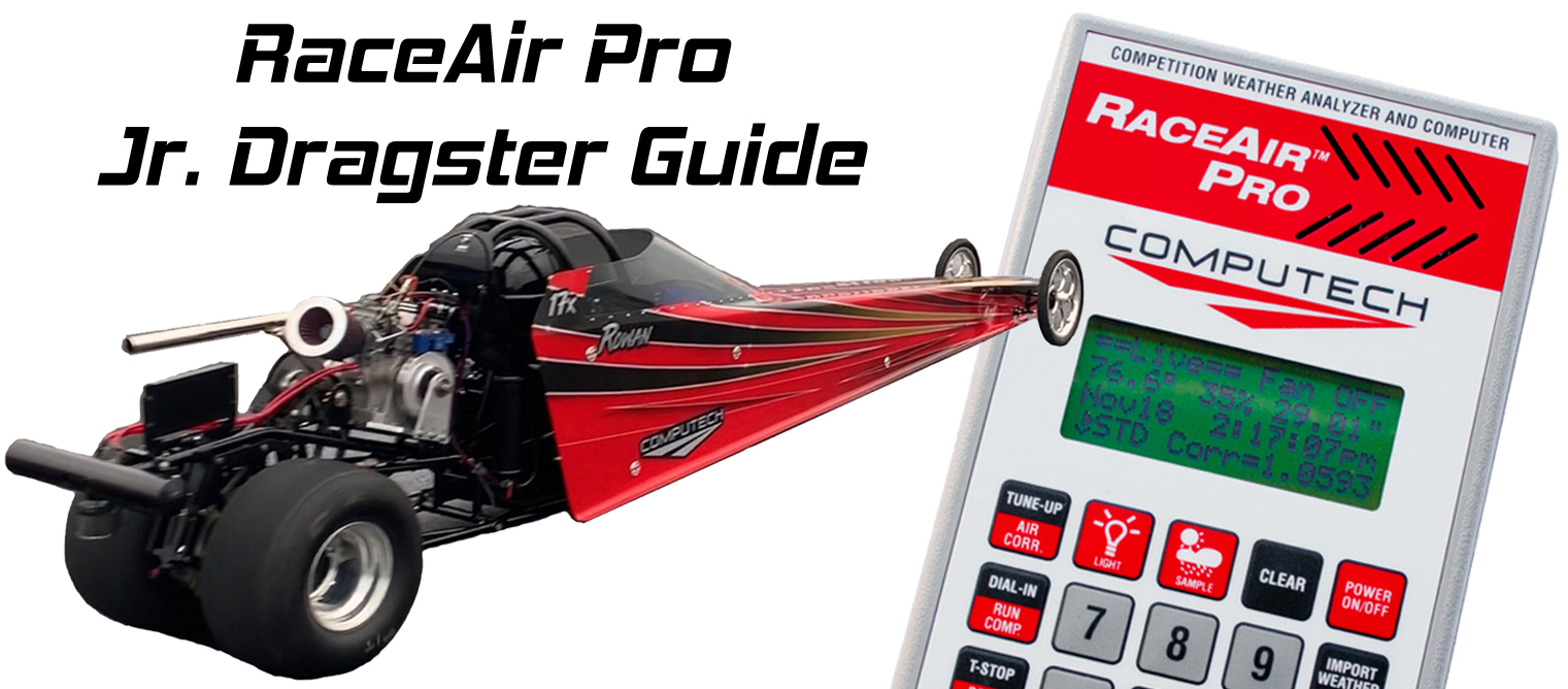 RaceAir Pro Jr Dragster Guide Header Image